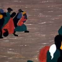 Hurry It's Closing:  Migrations by Jacob Lawrence (New York City)