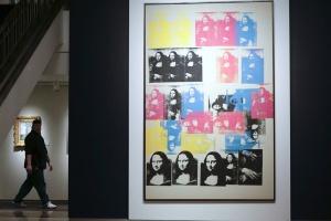 "Andy Warhol's ""Colored Mona Lisa"""