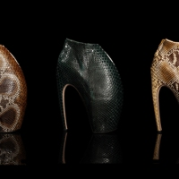 Alexander McQueen and Christie's UNICEF Auction fetches $295,000 for 3 Pairs of Armadillo Boots thanks to Lady Gaga's Fiance