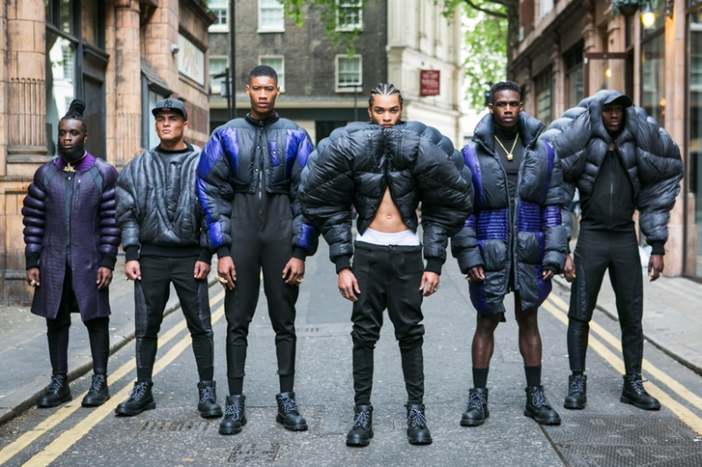 Pause Presentation at London Collections Men Spring 2016