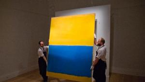 "Mark Rothko's ""Untitled (Yellow and Blue)"""