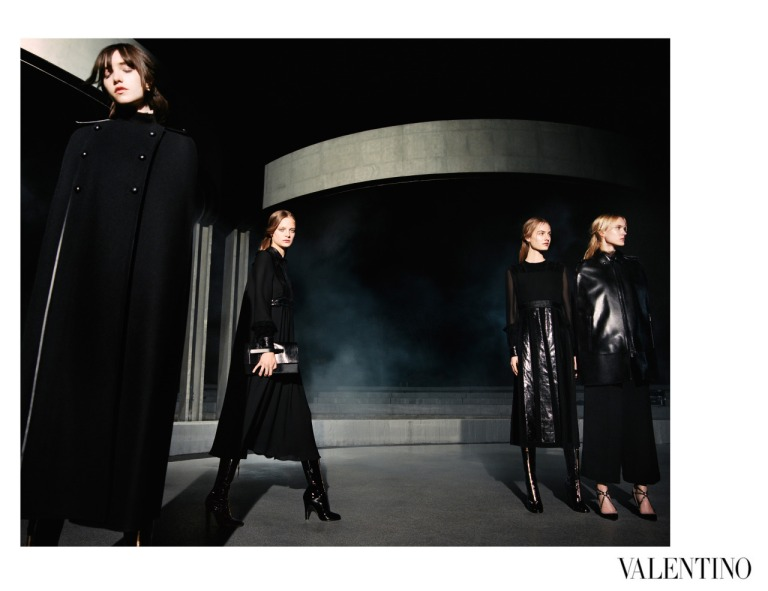 Fall Winter 2015-16 Valentino Campaign by Michel Pudelka