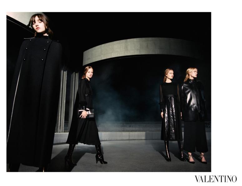 Fall Winter 2015-16 Valentino Campaign by Michel Pudelka