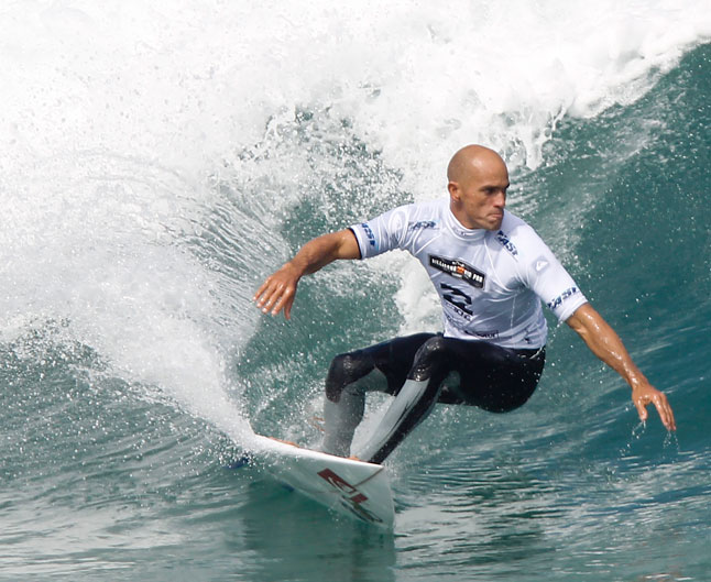 Surfer Kelly Slater