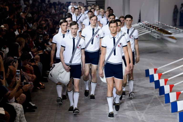"Moncler Gamme Bleu ""Rowing"" inspiration for Spring 2016 Collection"