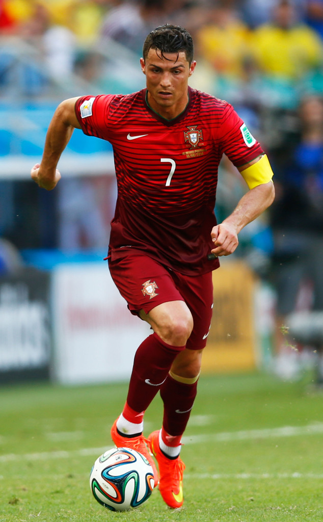 Soccar player Christiano Ronaldo