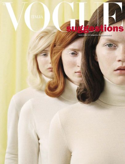 Michal Pudelka for Vogue Italia (Inside Cover)