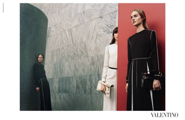 Valentino Fall 2015 shot by Michal Pudelka
