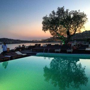 Afternoon sunset in Mykonos.   Instagram:  Alexander Smith