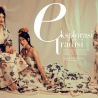 Indonesian Harper's Bazaar's August 2015 Editorial -  The Eksplorasi Tradisi story
