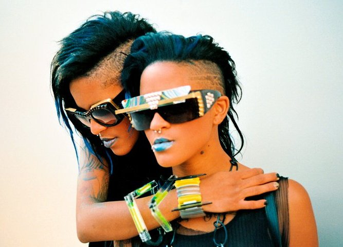 87848bb26bf ... Coco and Breezy and their eclectic eyewear were an instant hit – the  fashion world beckoned as people continued to ask where they could purchase  their ...