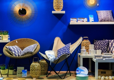 "Golden ""chachkies"" in the Maison&Objet showroom. Discover the new Objet-Area at Maison Objet-Paris September 4-8 2015"
