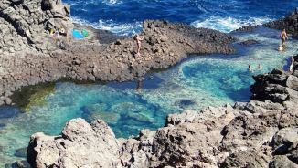 Laghetto delle ondine, Pantelleria, Sicily