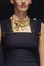 Lanvin EXTRAORDINARY brass choker