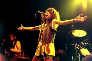 Patti Smith in Rosengrten 1978