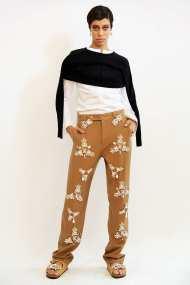 Beautiful jewel encrusted slacks, in Khaki, as you've never seen before