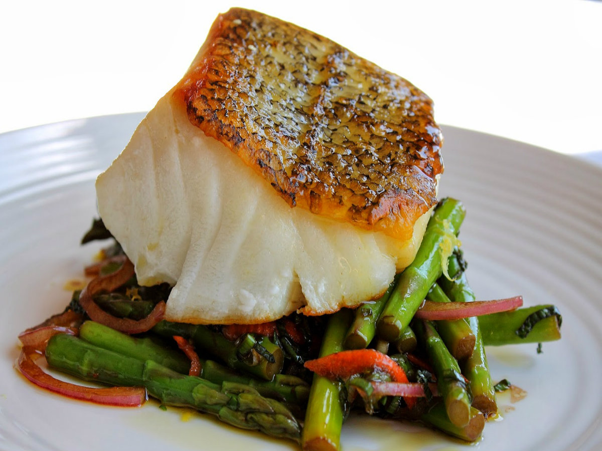 Sea Bass With Lemon Sauce Recipes — Dishmaps