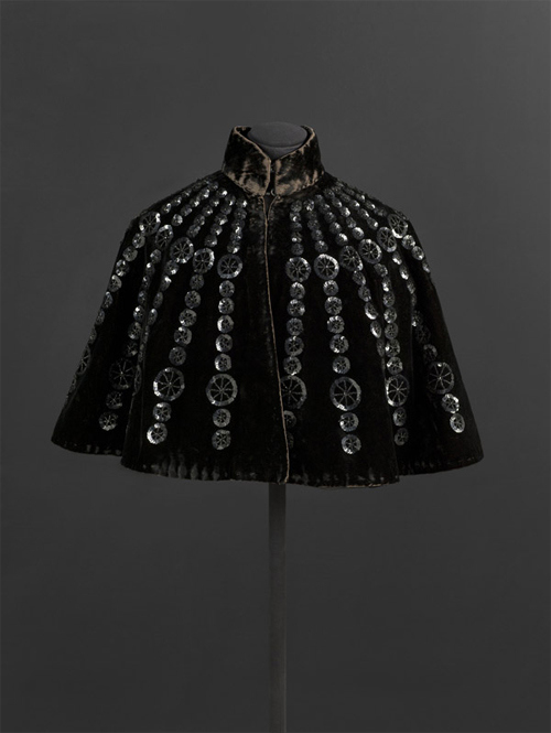 Private collection of Cristóbal Balenciaga, Antique Black Cape,ca. 1895