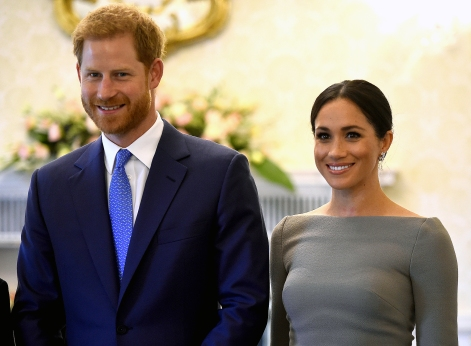 That's no ill fitting bra, Meghan Markle, Duchess of Sussex is rocking a cone shaped bra.